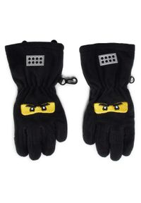 Czarne rękawiczki LEGO Wear