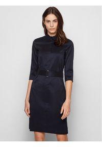 BOSS - Boss Sukienka codzienna Daliri1 50427524 Granatowy Regular Fit. Okazja: na co dzień. Kolor: niebieski. Typ sukienki: proste. Styl: casual