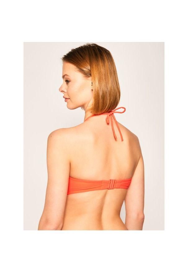 Pomarańczowe góra bikini Chantelle