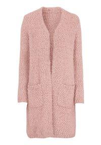 Różowy sweter Cellbes w kolorowe wzory, elegancki