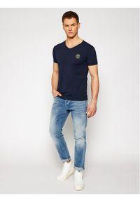 Niebieski t-shirt VERSACE