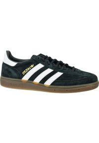 Czarne sneakersy Adidas do piłki ręcznej, z cholewką