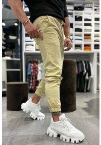 Beżowe spodnie IVET na co dzień, casualowe