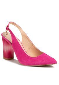Różowe sandały Baldaccini casualowe, na co dzień