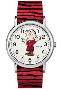 Czerwony zegarek Timex