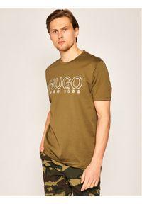 Zielony t-shirt Hugo