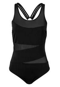 Kostium kąpielowy shape Level 1, przyjazny dla środowiska bonprix czarny. Kolor: czarny