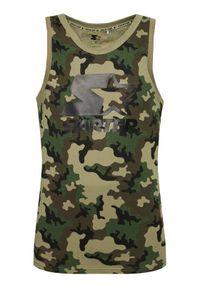Starter Tank top SMG-016-BD Zielony Regular Fit. Kolor: zielony