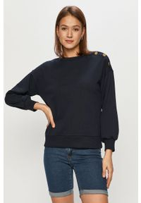 Niebieska bluza Jacqueline de Yong z długim rękawem, długa