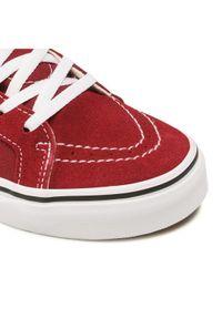Vans Sneakersy SK8-Hi Zip VN0A4BUX9AK1 Bordowy. Kolor: czerwony. Model: Vans SK8
