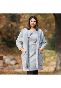 Bluza Moda Size Plus Iwanek plus size, elegancka, z krótkim rękawem