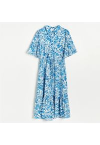 Kremowa sukienka Reserved szmizjerki