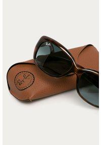 Brązowe okulary przeciwsłoneczne Ray-Ban