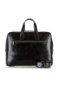 Czarna torba na laptopa Wittchen biznesowa