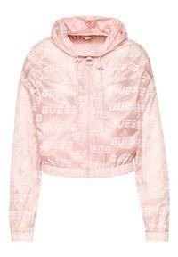 Różowa kurtka przejściowa Guess