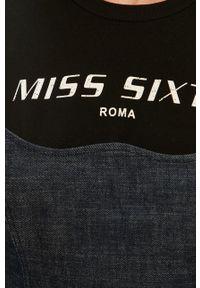 Niebieski kombinezon Miss Sixty casualowy, bez rękawów, krótki
