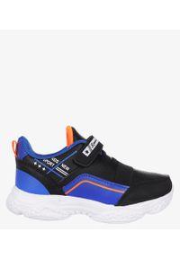 Casu - Czarne buty sportowe na rzep casu 5xc8061-s. Zapięcie: rzepy. Kolor: czarny
