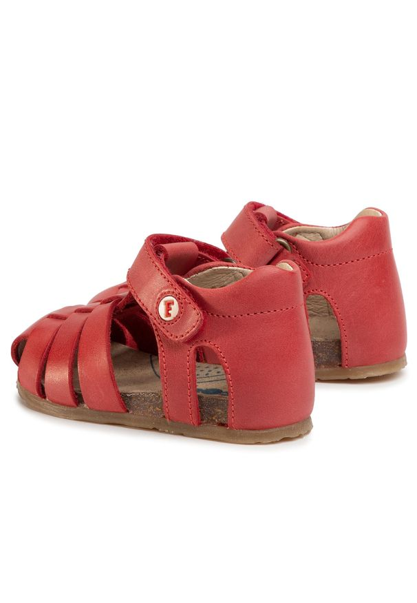 Czerwone sandały Naturino