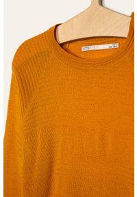 Pomarańczowy sweter Kids Only na co dzień, casualowy #3