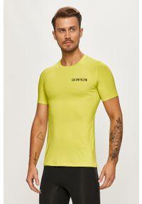 T-shirt Calvin Klein Performance z okrągłym kołnierzem, z nadrukiem