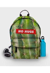 MegaKoszulki - Plecak fullprint No hugs. Materiał: materiał. Wzór: nadruk