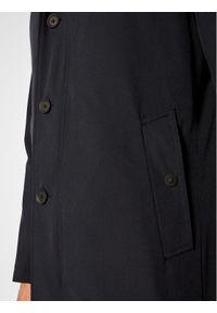 Oscar Jacobson Płaszcz przejściowy Johnsson 7117 6567 Granatowy Regular Fit. Kolor: niebieski