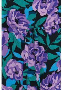 Jacqueline de Yong - Sukienka. Okazja: na co dzień. Kolor: czarny. Materiał: tkanina, wiskoza, materiał. Typ sukienki: proste. Styl: casual