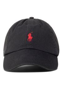 Czarna czapka Polo Ralph Lauren