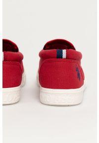 U.S. Polo Assn. - Tenisówki. Kolor: czerwony. Materiał: guma