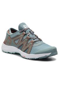 Niebieskie buty do fitnessu salomon