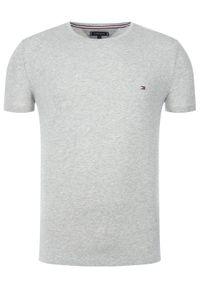 TOMMY HILFIGER - Tommy Hilfiger T-Shirt 867896625 Szary Slim Fit. Kolor: szary