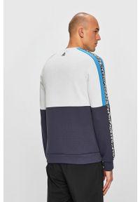Wielokolorowa bluza nierozpinana Reebok casualowa, z okrągłym kołnierzem