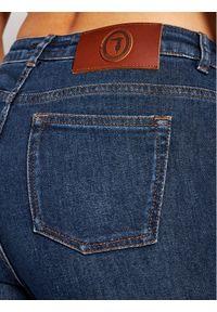Niebieskie jeansy slim Trussardi Jeans