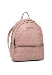 Różowy plecak Guess