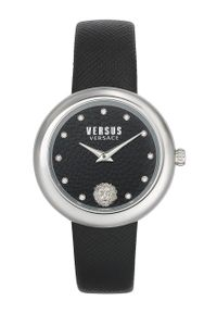 Czarny zegarek Versus Versace