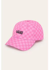 Różowa czapka z daszkiem Vans