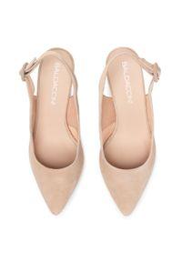 Beżowe sandały Baldaccini wizytowe #7