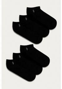 Polo Ralph Lauren - Skarpetki (6-pack). Kolor: czarny