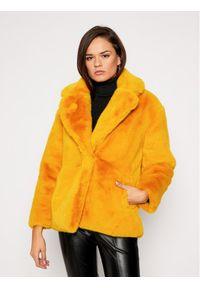 Żółte futro Desigual