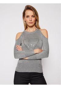 Guess Sweter Aurelie W1RR0D Z2NQ0 Szary Regular Fit. Kolor: szary