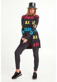Sweter Armani Exchange biznesowy, do pracy