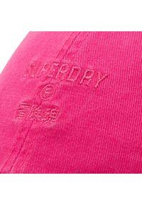 Superdry - Czapka z daszkiem SUPERDRY - Baseball Cap W9010105A Dusky Rose. Kolor: różowy. Materiał: materiał, bawełna #2