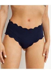 MARYSIA SWIM - Dwustronny dół od bikini Spring Black. Stan: podwyższony. Kolor: czarny. Materiał: tkanina, materiał