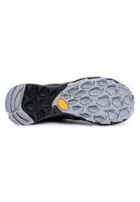 Czarne buty sportowe Merrell z cholewką