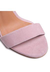Różowe sandały Szydłowski eleganckie