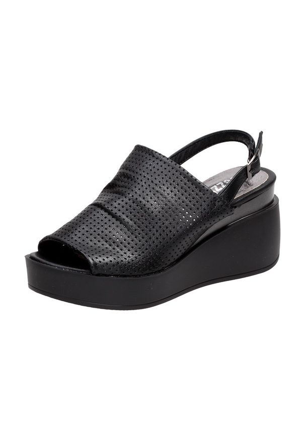 Czarne sandały Jezzi klasyczne