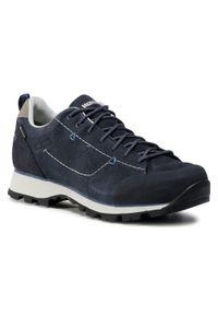 Niebieskie buty trekkingowe MEINDL Gore-Tex, trekkingowe, z cholewką