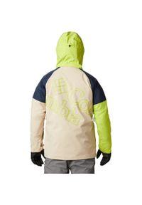Zielona kurtka columbia