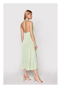 Samsoe & Samsoe - Samsøe Samsøe Sukienka koktajlowa Cille F21100203 Zielony Regular Fit. Kolor: zielony. Styl: wizytowy #5