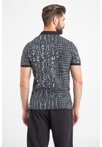 Koszulka polo Just Cavalli sportowa, z nadrukiem, polo